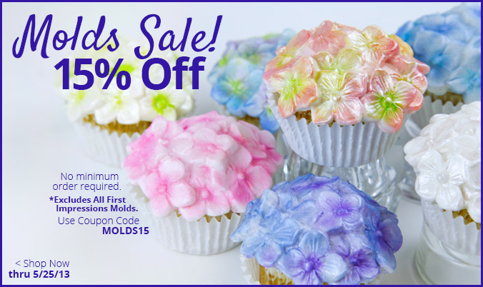 Molds Sale 15% Off
