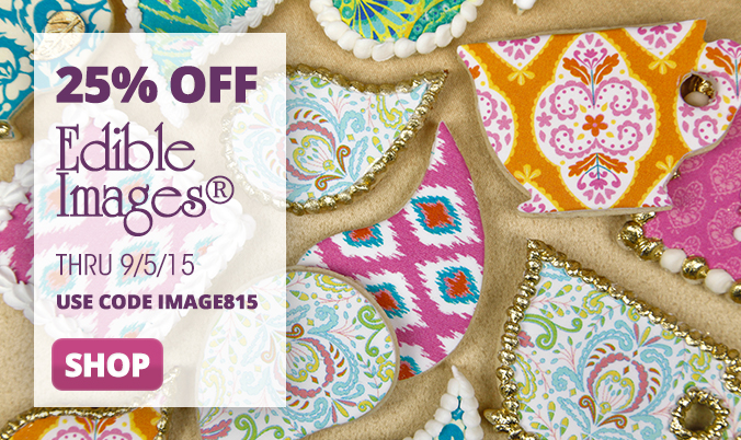 8/23 Edible Images 25% Off