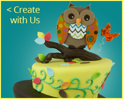 Who Loves You Baby Owl Shower Cake