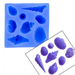 Shell Set 6 Mold by First Impressions Molds