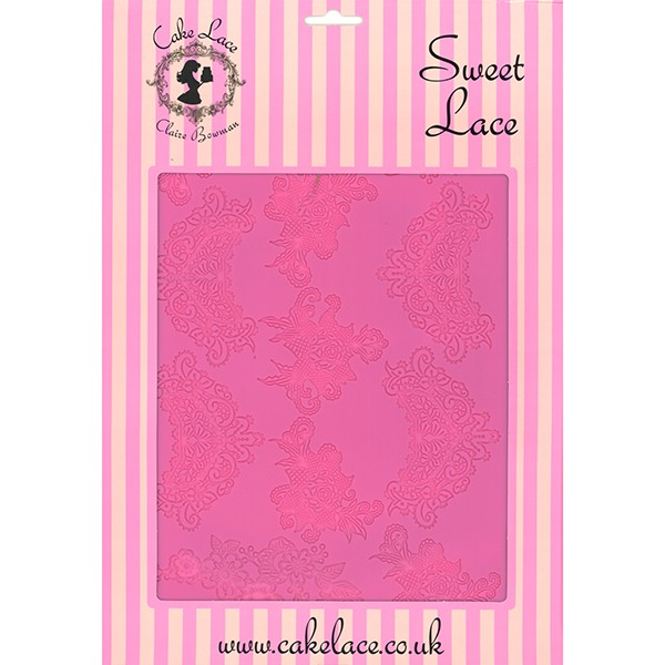 Sweet Lace Large Silicone Lace Mat by Claire Bowman