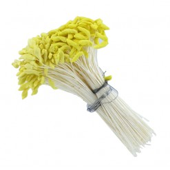 Stamens-Long Pointed Dull Yellow Tip by Global Sugar Art