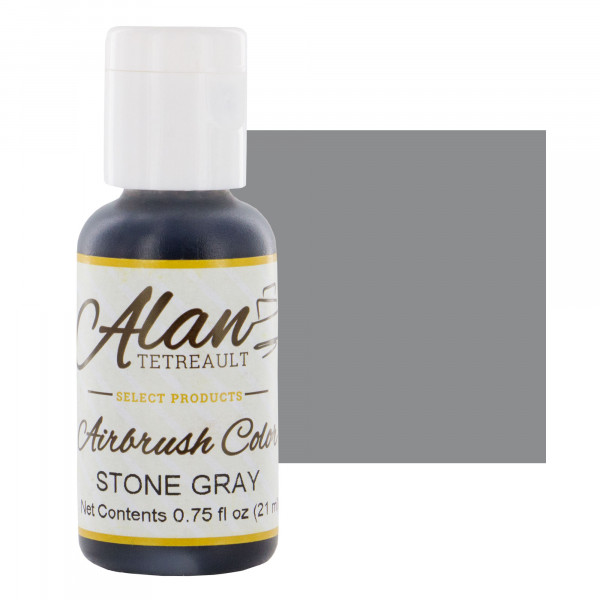 Stone Gray Premium Airbrush Food Color, 3/4 Ounce by Chef ...